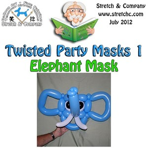 Elephant Mask from Twisted Party Masks 1 by Stretch the Balloon Dude