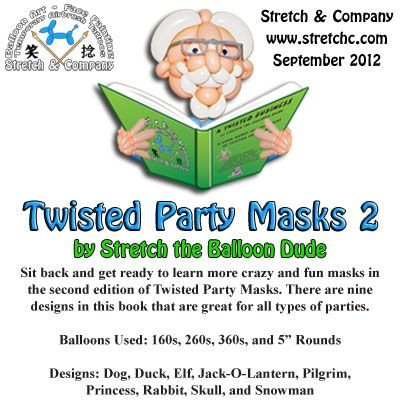 Twisted Party Masks 2
