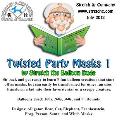 Twisted Party Masks 1