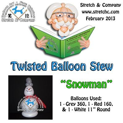 Snowman - Twisted Balloon Stew