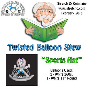 Sports Hat - Twisted Balloon Stew