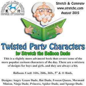 Twisted Party Characters
