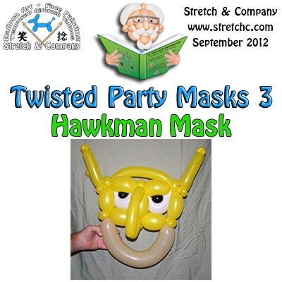 Hawkman Mask from Twisted Party Masks 3 by Stretch the Balloon Dude