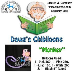 Chibiloons Monkey