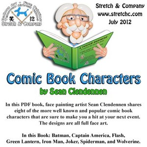 Comic Book Characters by Sean