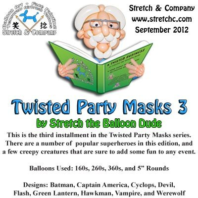 Twisted Party Masks 3