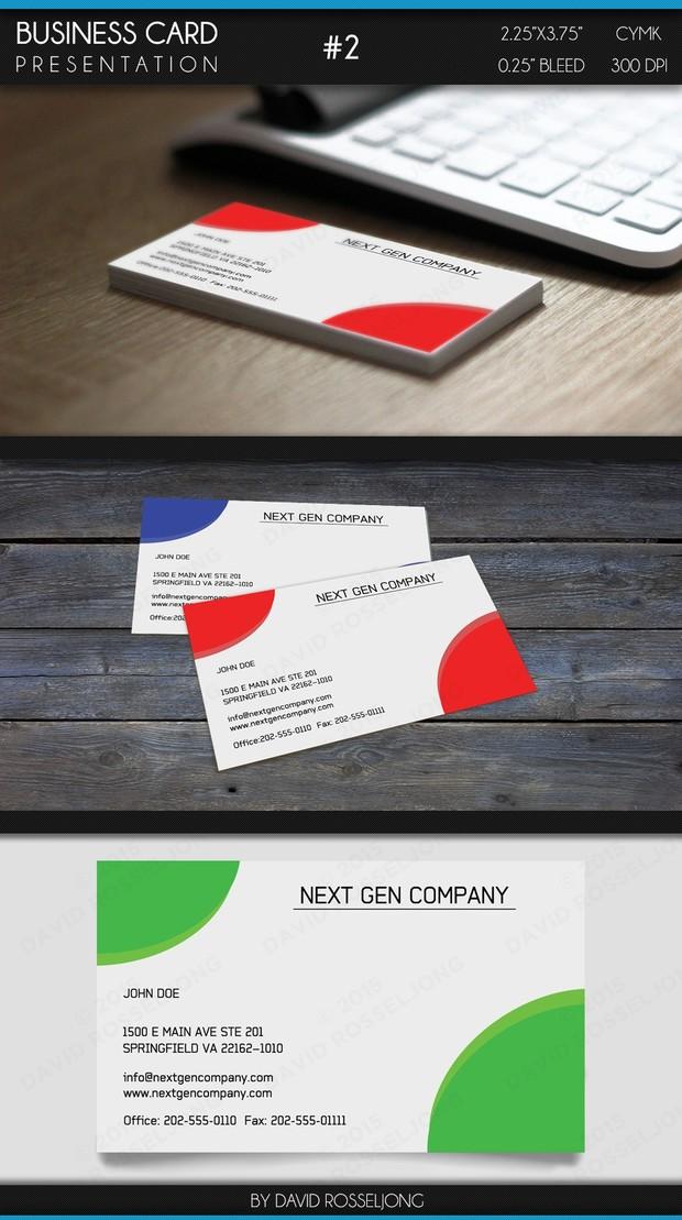 Business Card - Basic and Minimalistic #2