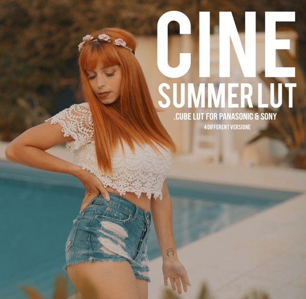 CINE Summer LUTs |  For LOG Sony & Panasonic |
