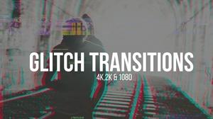 4k GLITCH TRANSITIONS