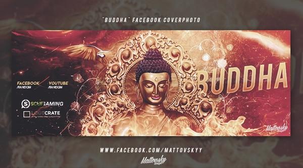BUDDHA - Facebook Cover Photo PSD TEMPLATE