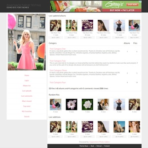 Advanced Coppermine Theme