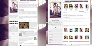 Toxic Light Wordpress Theme and Coppermine Theme Combo