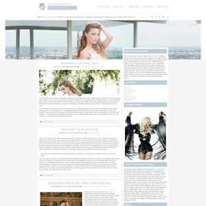 Light Blues Wordpress Theme