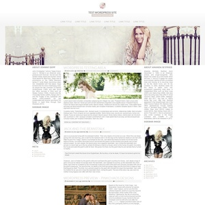 Three Column Wordpress Theme