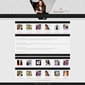 Black and White Coppermine Theme