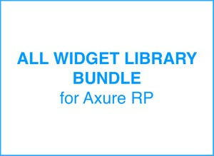Bundle of all Axure Widget Library