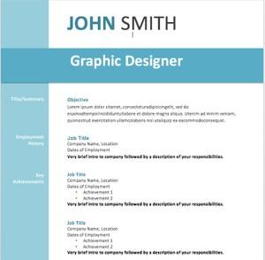 19 Resume templates