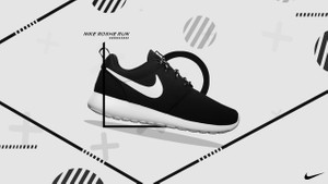 3c1da6899ab5 Nike Roshe Run Advertisement Poster PSD