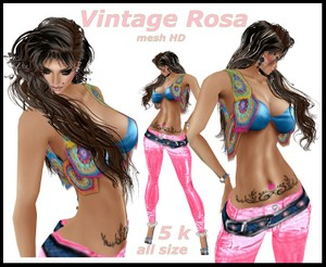 FILE VINTAGE ROSA
