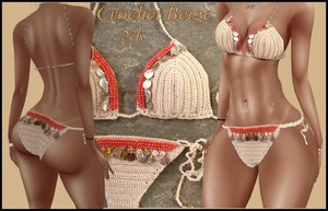 FILE CROCHET BEIGE