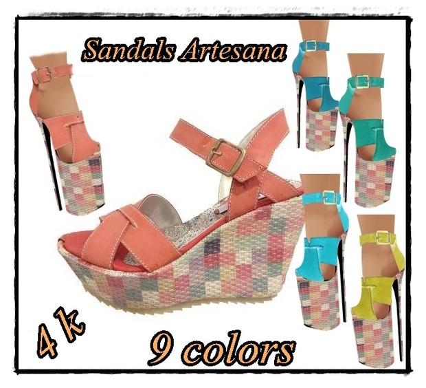 ARTESANA DRESS + SANDALS FILE