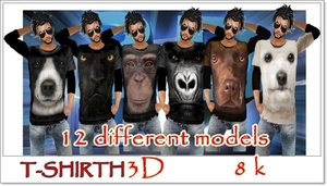 FILE TSHIRTH 3D