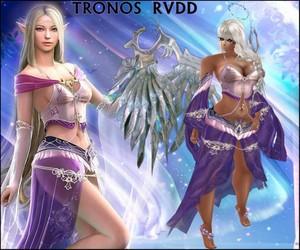 WINGS WARRIOR METAL ALAS ANGEL ELFA