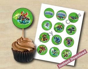 Skylanders Cupcake Toppers 2