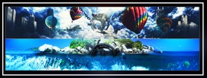 Youtube 3D Banner