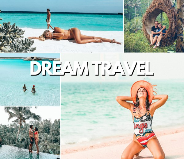 DREAM TRAVEL PRESET PACK 2020