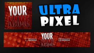 Red Shine Re-brand (Youtube Banner, Avatar)