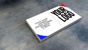 Simple Business Card Design Template. (Fully Customizable)