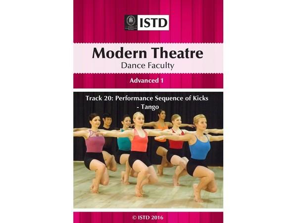 ISTD Modern Theatre Advanced 1 - Track 20: Performance Sequence of Kicks - Tango