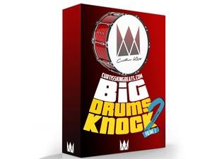 Curtiss King Beats - Big Drums Knock Vol. 2 (Digital Download)