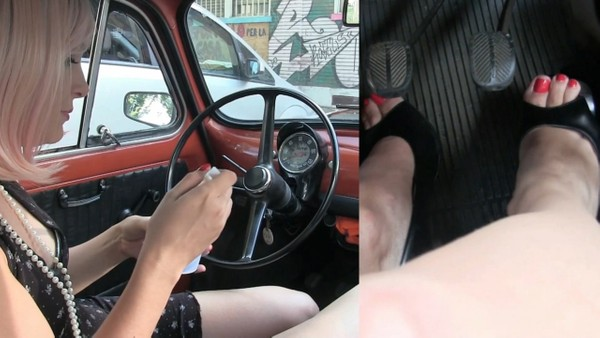 480 :  Fiat 500 morning trip - Starring Miss Iris