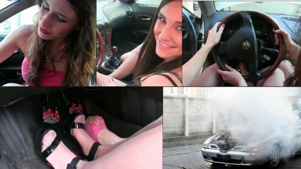 135 Alfa Romeo 166 : The blowing by Miss Iris & Miss Black Mamba