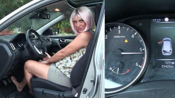 486 : Boss car hard revving, curbs and burnouts