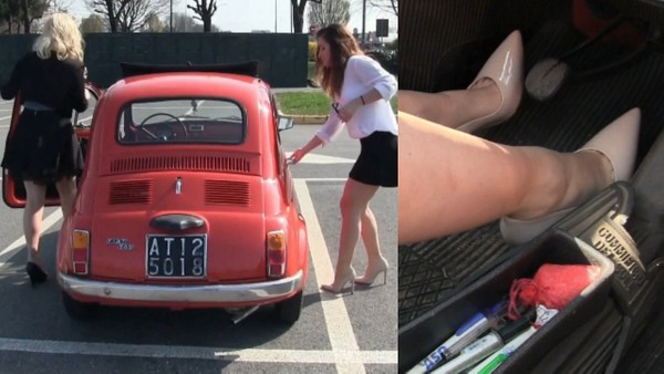 376 : Fiat 500 spring shopping - Part 2 | Starring Miss Amy and Miss Barbie