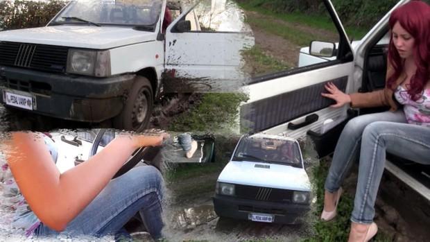 110 : Miss Melanie stuck in the mud