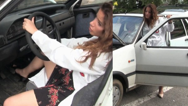 387 : Dr. Amy in distress with her stubborn Fiat Uno