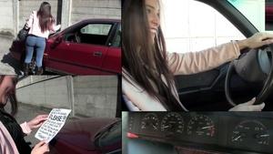150 : Miss Iris punishes her friend's Lancia Dedra