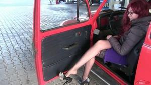 256 - Miss Melanie - trip with the old WV Beetle