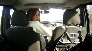 041 Vicky goes to work driving reverse