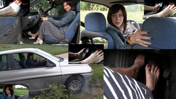 519 : Having fun and drive reverse with the Lancia Y - Starring Miss Iris