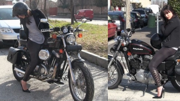374 : 2018 Harley Davidson Nightmare - part 1  Starring Miss Iris