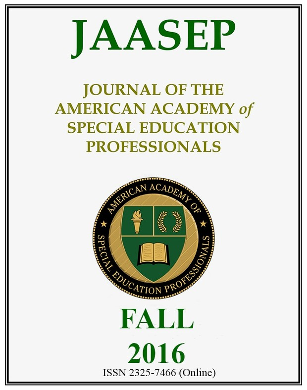JAASEP FALL 2016