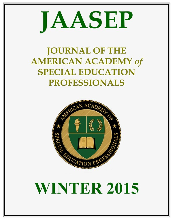 JAASEP - WINTER 2015