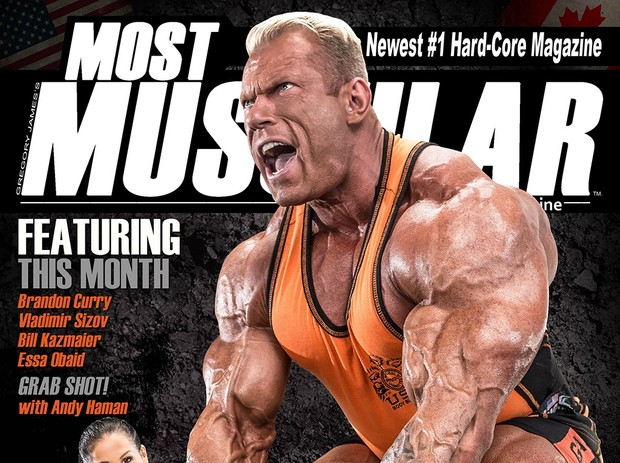 Most Muscular Magazine - June-July 2017 Vol 01 Issue-3