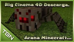 Rig Araña Minecraft