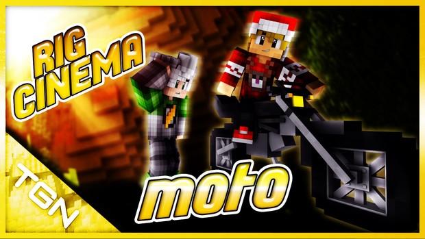 Rig de Moto Minecraft Cinema4D